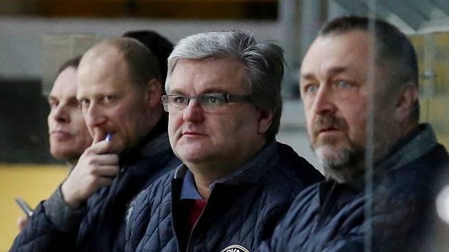 Tomáš Mareš, Vladimír Evan a Vladimír Machulda na archivním snímku.