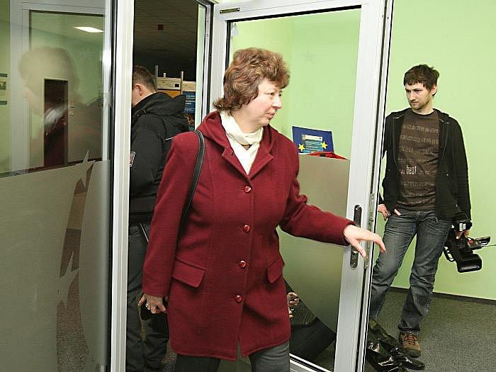 Zásah v sídle Rady regionu soudržnosti Severozápad v Ústí nad Labem.
