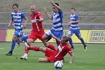 Přípravné utkání: FSV Zwickau - FK Ústí nad Labem 1:1 (1:1).