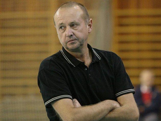 KOUČ. Miroslav Malán, trenér volejbalistů SKV Ústí nad Labem.