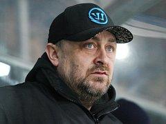 Trenér hokejistů Slovanu Tomáš Mareš.