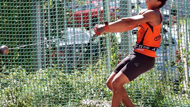 Ústecké sprinty II - Ústecké vrhy II. Samuel Camara - AC Ústí