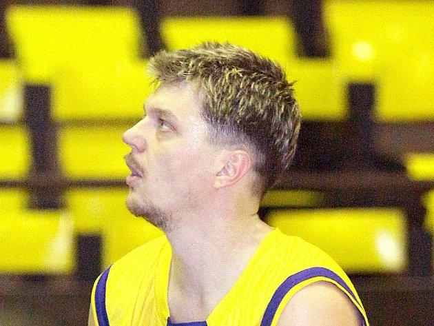 Kapitán ústeckých basketbalistů Vladimír Hejl.