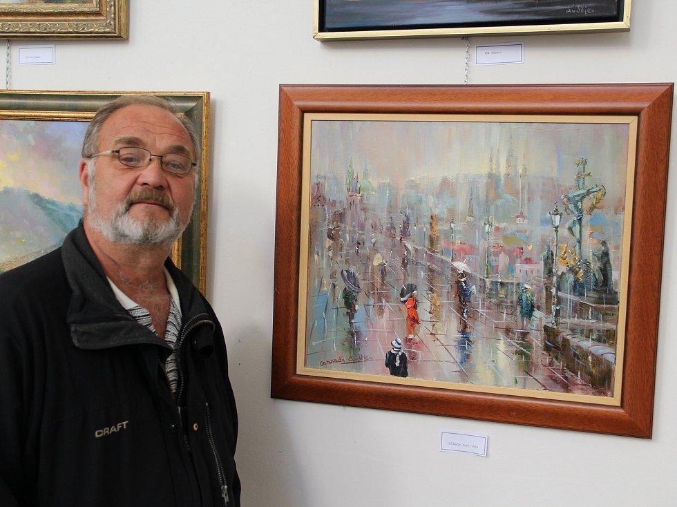 Výstava malíře Gennadije Avdějeva v kostele Sv. Vojtěcha v Ůstí