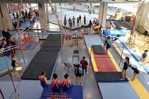 Závody ve sportovní gymnastice základních škol
