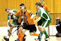 FbC Ústí n/L (oranžoví) - USK Slavia Ústí n/L  (zelení).