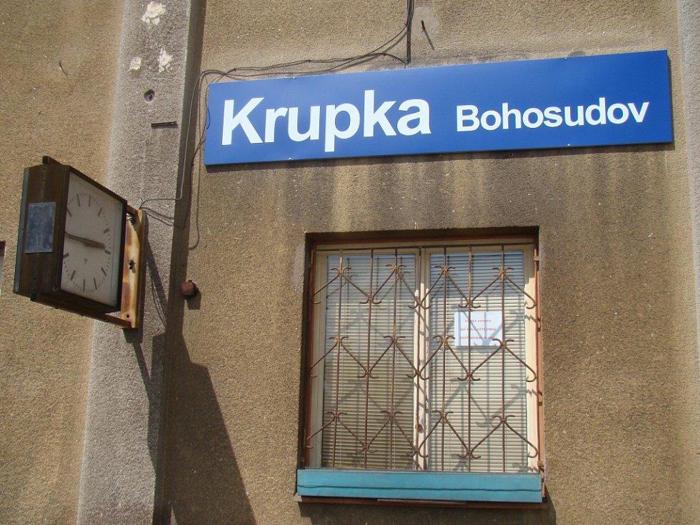 Nádraží Krupka - Bohosudov.