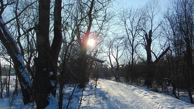 Inverzní charakter počasí vystřídalo v Ústeckém kraji slunečno.