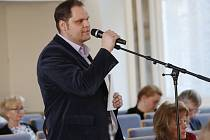 Veřejné zasedání ústeckých zastupitelů.