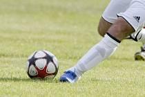 Fotbal, ilustrační fotografie.