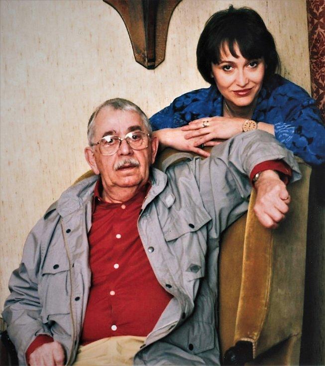 Vlastimil Brodský byl Petřin bratranec a zároveň skvělý herec a člověk. Jak říká, je moc ráda, že byli příbuzní.