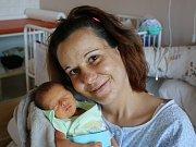 Adam Šumichrast se narodil v ústecké porodnici 12.4.2017 (14.39) Lucii Merglové. Měřil 43 cm, vážil 2,17 kg.