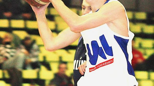 Basketbalista Adam Žampach