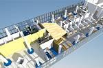 Vizualizace plánovaného přepážkového centra je sice připravená, k realizaci výstavby ale zřejmě jen tak nedojde.