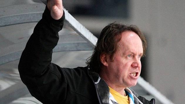 Trenér ústeckých hokejistů Petr Rosol.