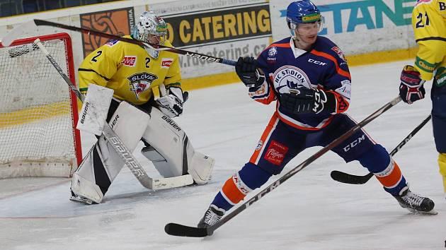 Hokejový zápas Ústí a Litoměřice