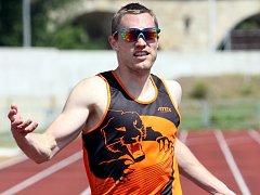 Aleš Filingr pomohl týmu třetím místem v běhu na 800 metrů.