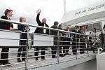 V Dolních Zálezlech otevřeli nové přístaviště.