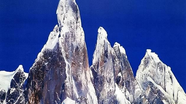 Cerro Torre v Patagonii je nejtěžší lezení na světě.