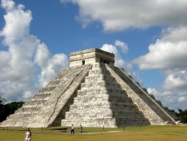 Mexická pyramida