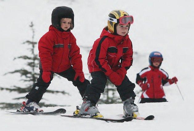 V zimním středisku Telnice na Ústecku se opět začalo lyžovat.