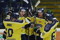 Hokejový zápas Ústí nad Labem a Přerov