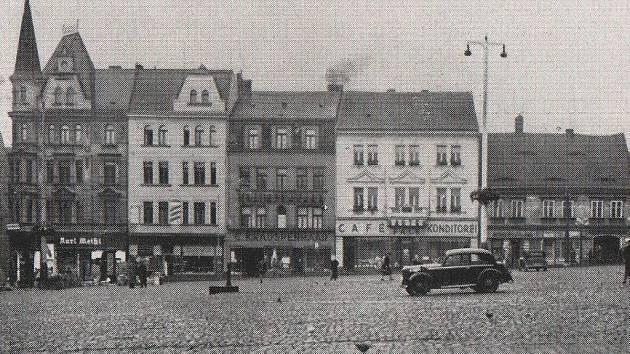Mírové náměstí v roce 1939.