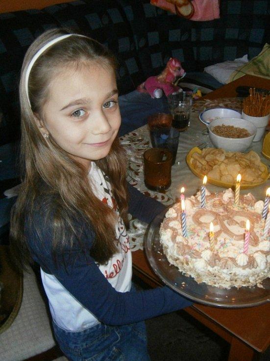 16. PAVLÍNKA SABOLČÍKOVÁ, 8 let, Bílina.