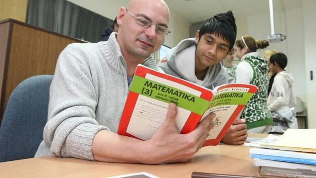 Obávaným matikářem a fyzikářem jsem se na jeden den stal na janovské základní škole.