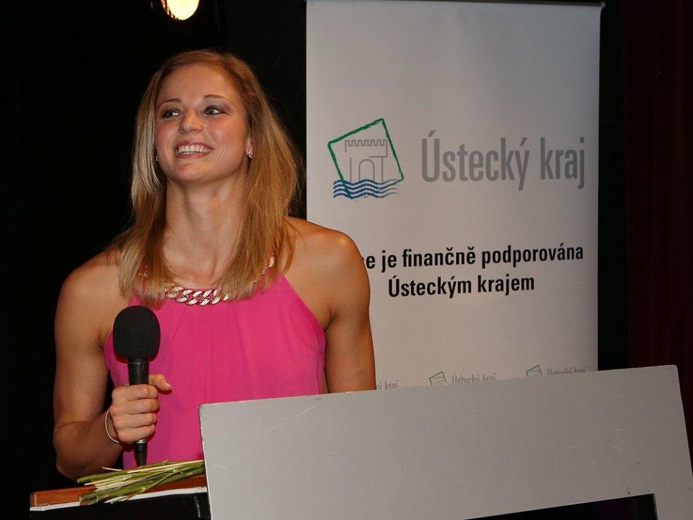 Simona Baumrtová  už popáté v řadě  ovládla anketu o Nejúspěšnějšího sportovce Ústeckého kraje.