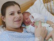 Prvním miminkem narozeným v roce 2017 v Ústeckém kraji je Josef Thieme z Ústí.