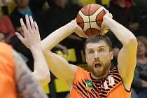 Basketbalový zápas mezi Ústím a Brnem