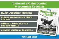 Vychází speciální příloha Fotbalový deník