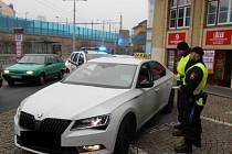 Kontrolní akce zaměřené na ústecké taxikáře.