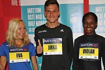 Běhu se zúčastní i elitní maratonec Jiří Homoláč. Na archivním snímku je na půlmaratonu v Ústí nad Labem