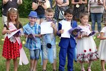 Děti v MŠ Pomněnka si červen náramně užily.