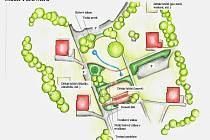 Plán revitalizace Parku Míru na Severní Terase