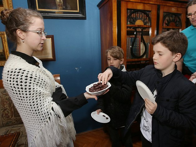 Ve Státním zámku Velké Březno proběhlo o víkendu hraběcí mlsání.