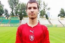 Fotbalista Svádova Petr Málek.