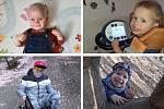 Děti, kterým pomáhá nadace Dobrý anděl