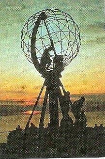 Severní mys (norsky Nordkapp, sámsky /laponsky/ Davvinjárgga, německy Nordkap, anglicky Nord Cape) leží na severu evropské pevniny.