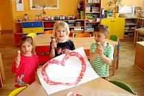 Měsíc plný lásky v Mateřské škole Pomněnka.