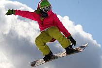 Snowboarding si získal popularitu především v 90. letech.