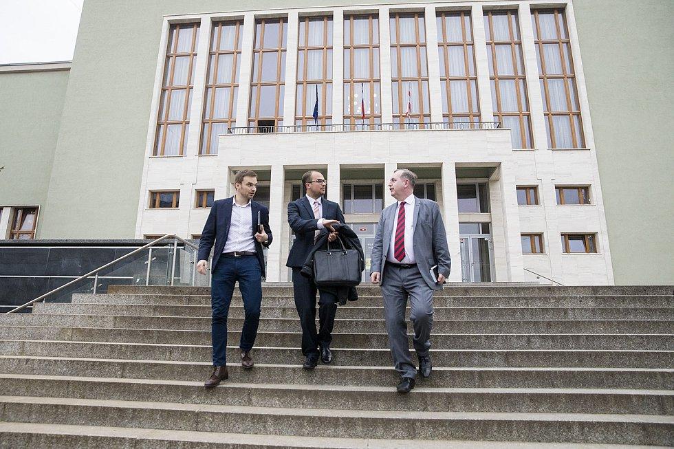 Návštěva rektora Univerzity Karlovy Tomáše Zimy v Ústí nad Labem