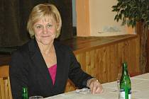 Starostka Trmic Jana Oubrechtová.