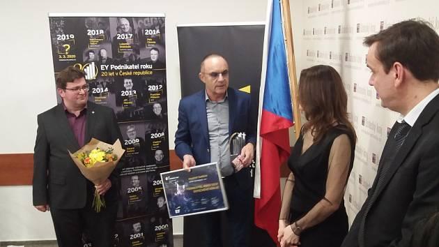 EY Podnikatel roku 2019 Ústeckého kraje je Vlastimil Sedláček.