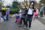 Školní masopust proběhl v pátek v Ústí nad Labem.