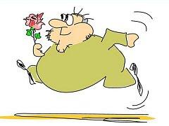Takhle vidí Valentýna ústecký karikaturista Radek Fetters.