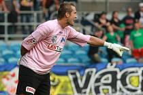 Brankář FK Ústí Radim Novák.