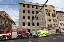 Požár bytu v ústecké Revoluční ulici
